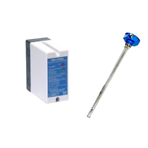 Termisztoros szintkapcsoló ES31 elektronika és R4 AL szonda benzin- és olajtartályokhoz 1000mm