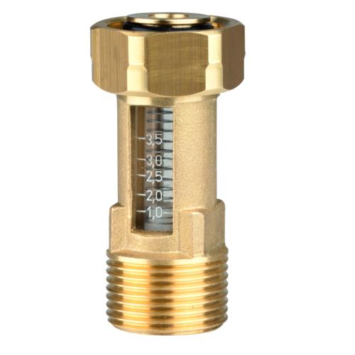 AFRISO Átfolyásmérő DFM 10-1 M G¾xG¾ ÜM 1-3,5 l/min