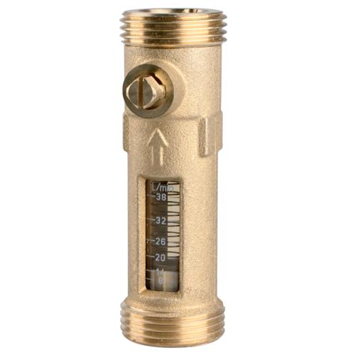 """AFRISO Átfolyásmérő DFM 20-2 M, G1¼""""xG1¼"""", 20-70 l/min, 12,9 m3/h"""