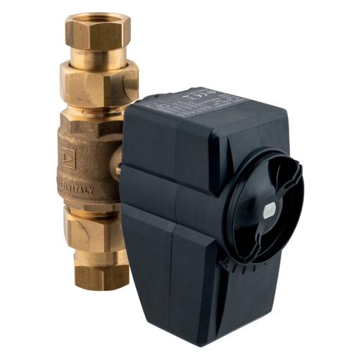 AFRISO Elektromos mozagtasú vízszeleprádió jeladóval - WaterControl 01 G1 1/2
